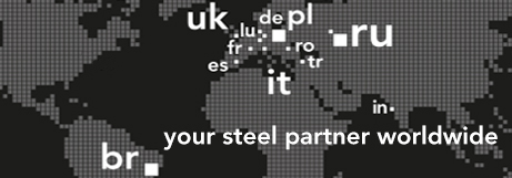 your steel partner worldwide, marcegaglia